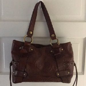Leather KOOBA bag